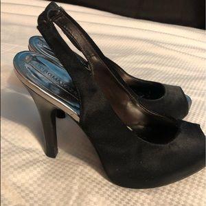 BCBG Maxazria black heels